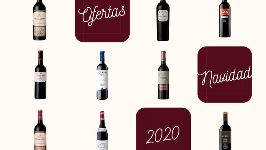Campaña de navidad vinos de Alta Gama a precios sorprendentes